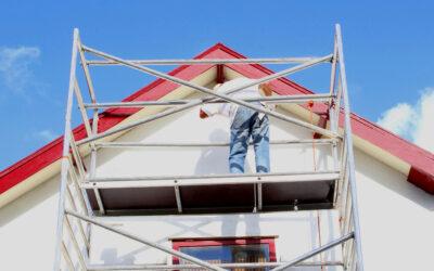 Øg sikkerheden ved dit byggeprojekt i privaten med et stillads
